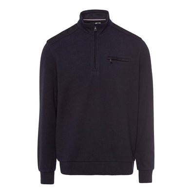 BRAX 1/2 ZIP SWEATER