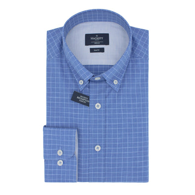 HACKETT MINI CHECK SHIRT