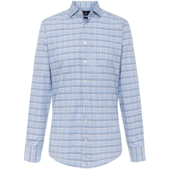 HACKETT TWILL CHECK SHIRT