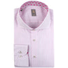 JACQUES BRITT PINK STRIPE SHIRT