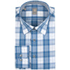 JACQUES BRITT SKY PLAID SHIRT