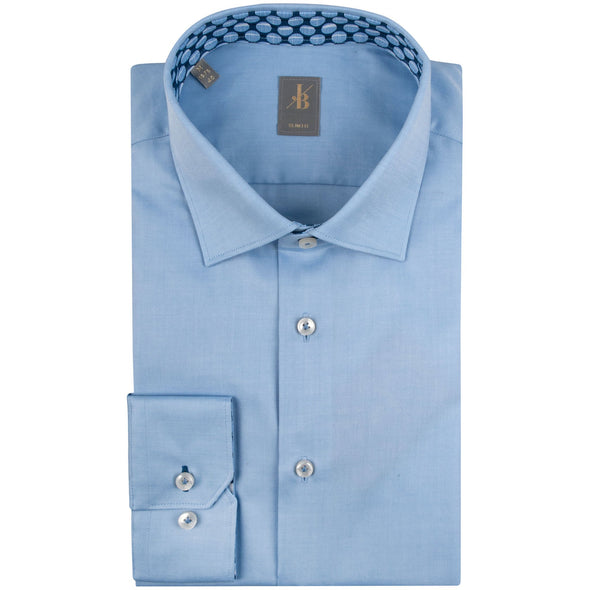 JACQUES BRITT SKY TWILL SHIRT