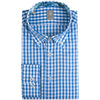 JACQUES BRITT BLUE GINGHAM SHIRT