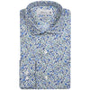 HENRY BLUE FLORAL PRINT SHIRT <br/>Take 20% off