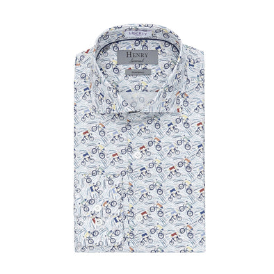 HENRY SARTORIAL GRAND TOUR SHIRT