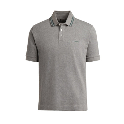 ZEGNA JERSEY POLO