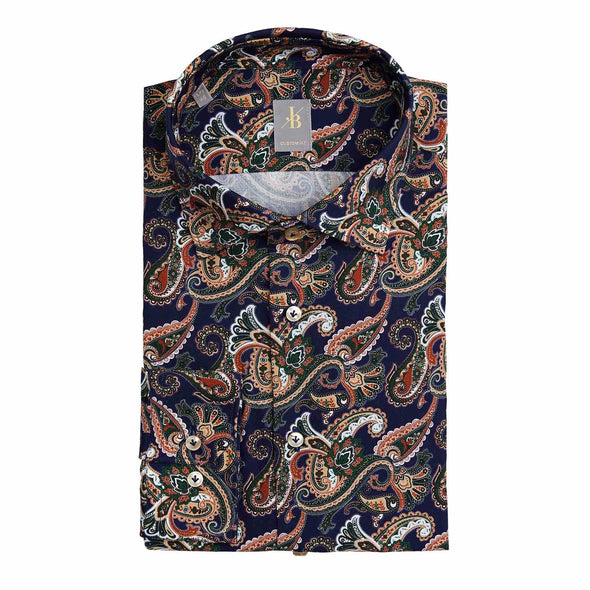 JACQUES BRITT MULTI PAISLEY SHIRT