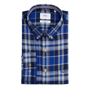 BRAX LIGHT FLANNEL CHECK SHIRT