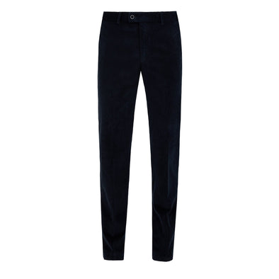 HILTL NAVY PIN CORD TROUSER