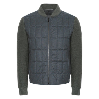 CANALI QUILTED BOMBER