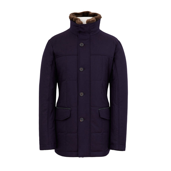 CANALI QUILTED HUNTNG JACKET