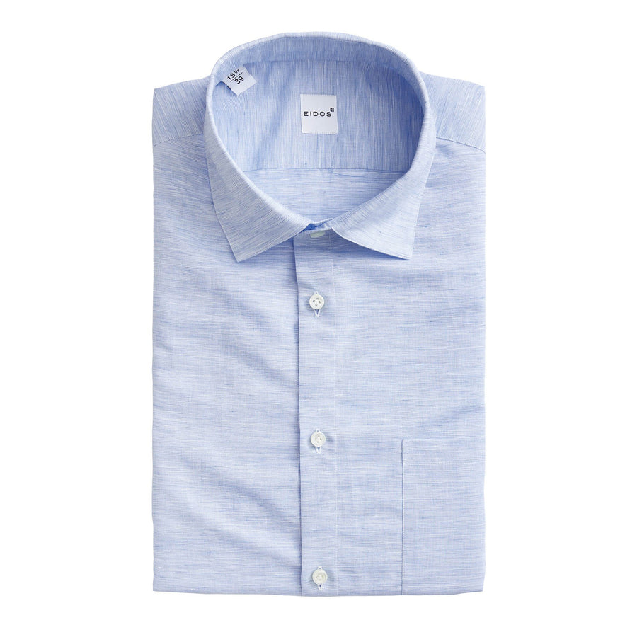 EIDOS LINEN SHORT SLEEVE SHIRT