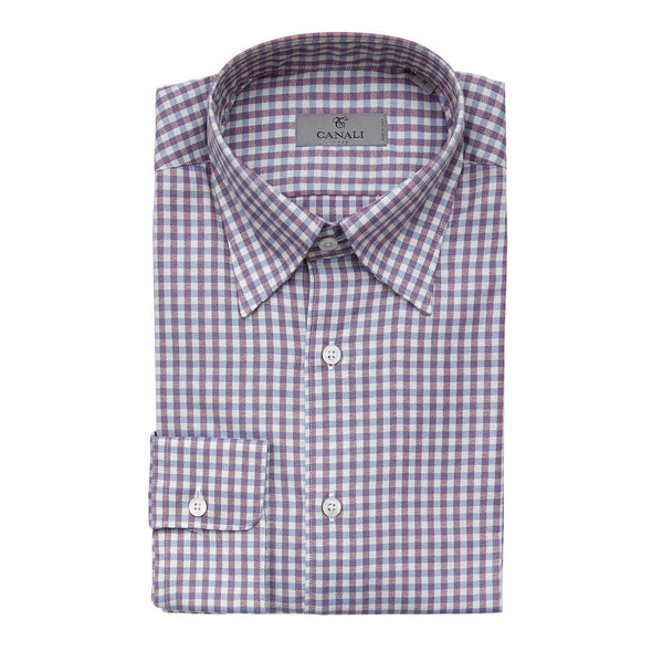CANALI GINGHAM CASUAL SHIRT