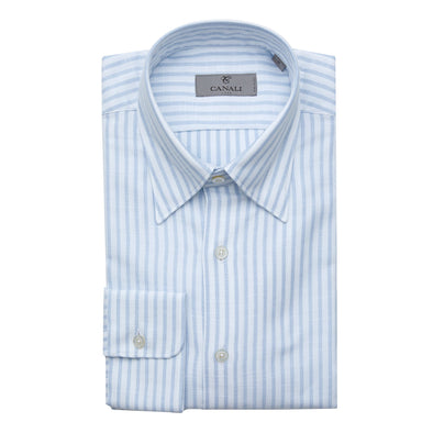 CANALI STRIPED CASUAL SHIRT