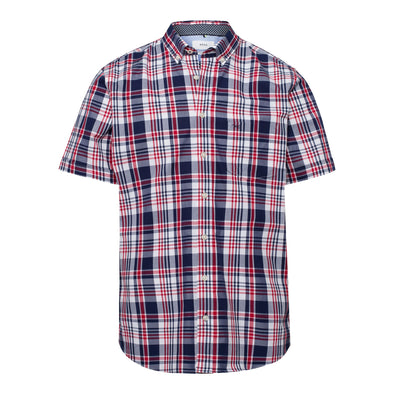 BRAX DRAKE CHECK SHORT SLEEVE SHIRT