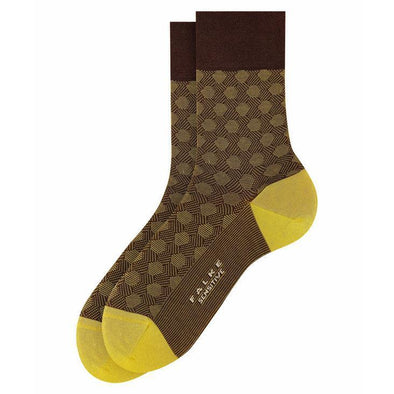 FALKE JACQUARD COTTON SOCK