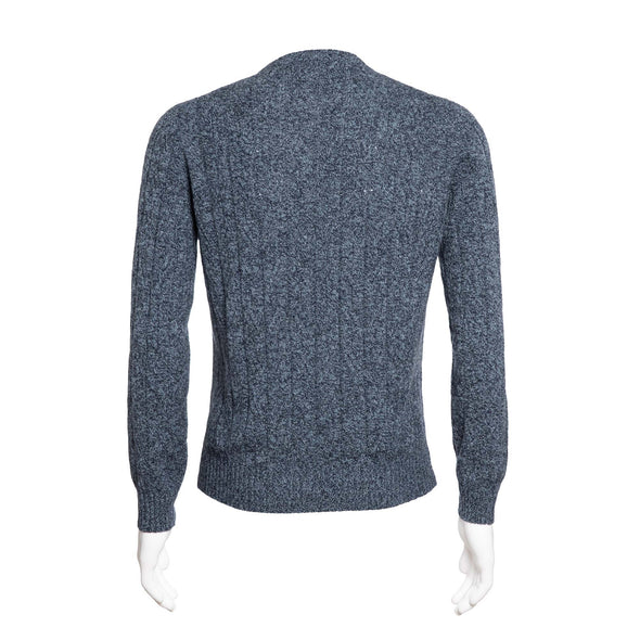 HENRY SARTORIAL CREWNECK CABLE KNIT