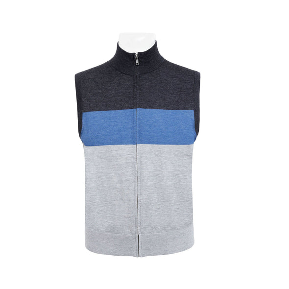HENRY SARTORIAL KNITTED VEST
