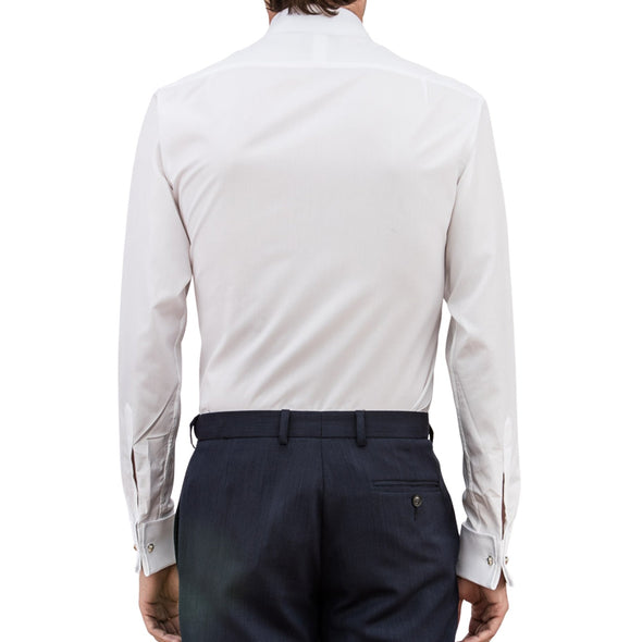 EMMA WILLIS WHITE SUPERIOR COTTON SHIRT (online only)
