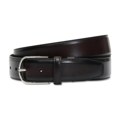CANALI CLASSIC BELT DARK BROWN