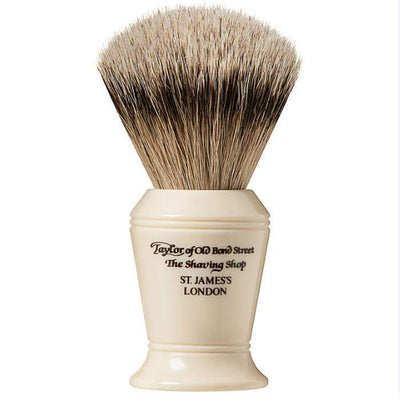 Taylor of Old Bond St Silver Tip Badger Brush - Large
