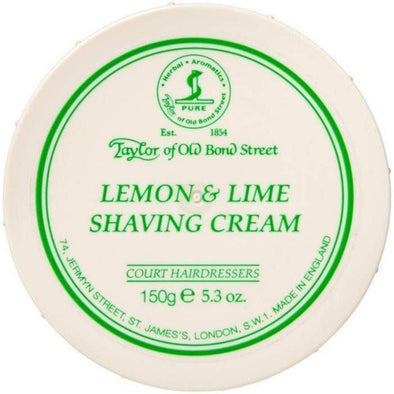 TAYLORS OF OLD BOND STREET-Taylor of Old Bond Street Shaving Cream Bowl Lemon & Lime-Henry Bucks