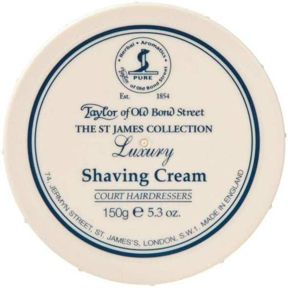 TAYLORS OF OLD BOND STREET-Taylor's Shaving Cream Bowl St James-Henry Bucks