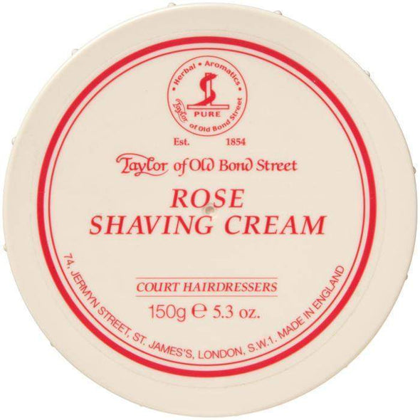 Non-Branded Products-Taylor Old Bond Street Shaving Cream Bowl - Rose-Henry Bucks
