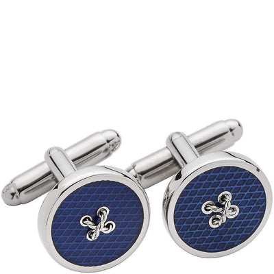 Henry Bucks Enamel Button Cufflinks