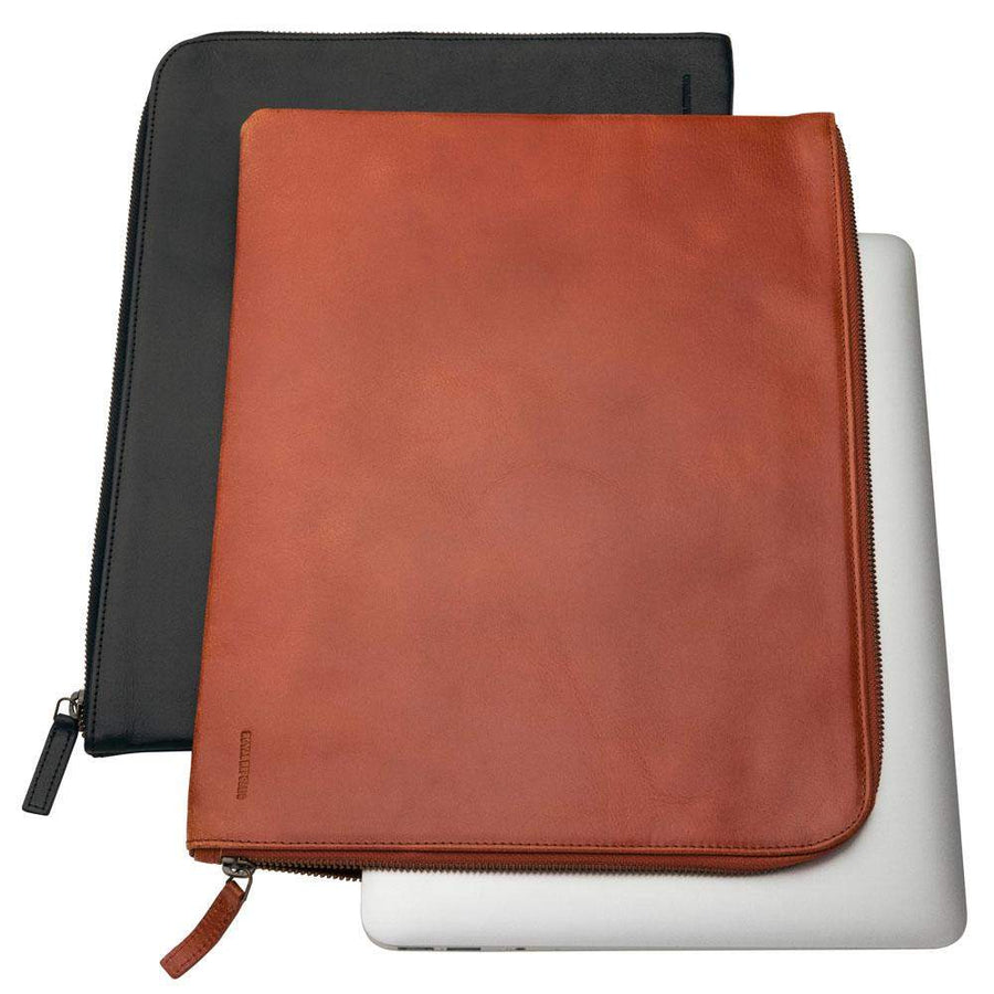 Royal Republiq-Royal Republic Leather Laptop Sleeve-Henry Bucks
