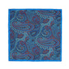 ASCOT HI-CLARITY PAISLEY POCKET SQUARE