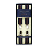ARTHUR THURSTON ELASTIC STRIPED 25MM BRACES