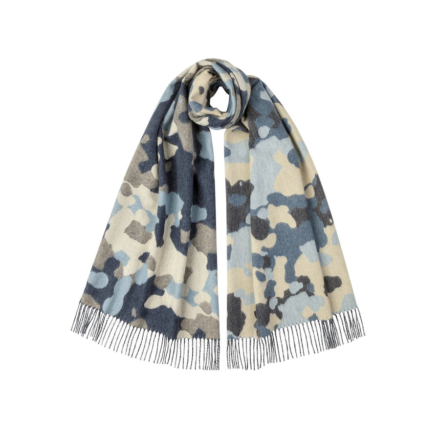 JOHNSTONS CAMO  SCARF