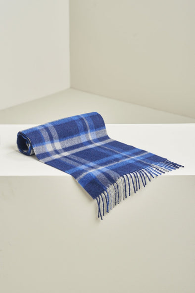 KUNA ALPACA UANCAVELICA SCARF BLUE NIGHT