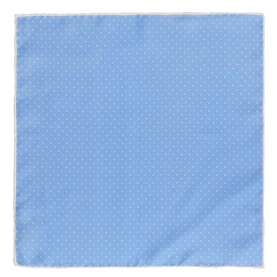 PAOLO ALBIZZATI BIG SPOT SILK POCKET SQUARE