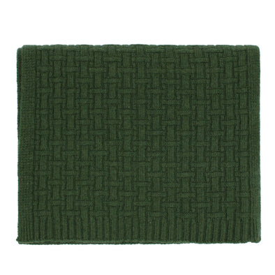 HACKETT WEAVE EFFECT KNITTED SCARF