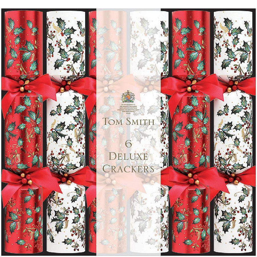TOM SMITH DELUXE Christmas CRACKERS