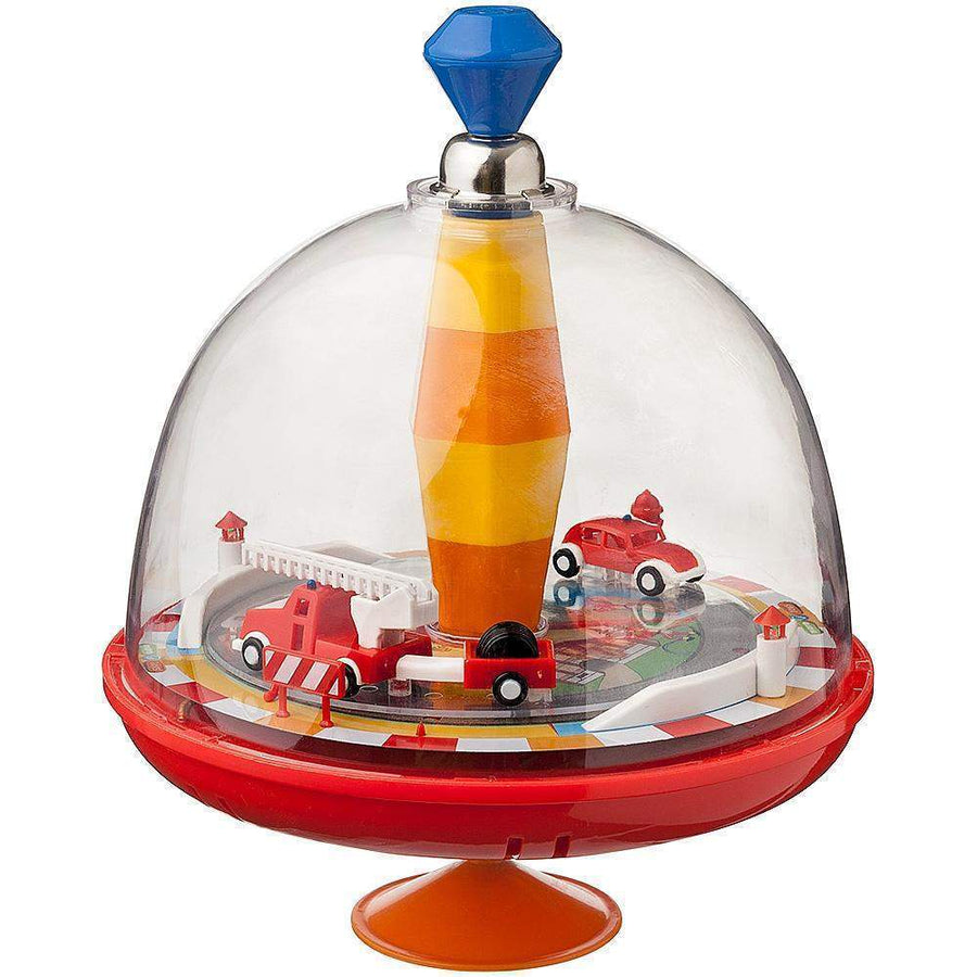 Spinning Top Fire Engine