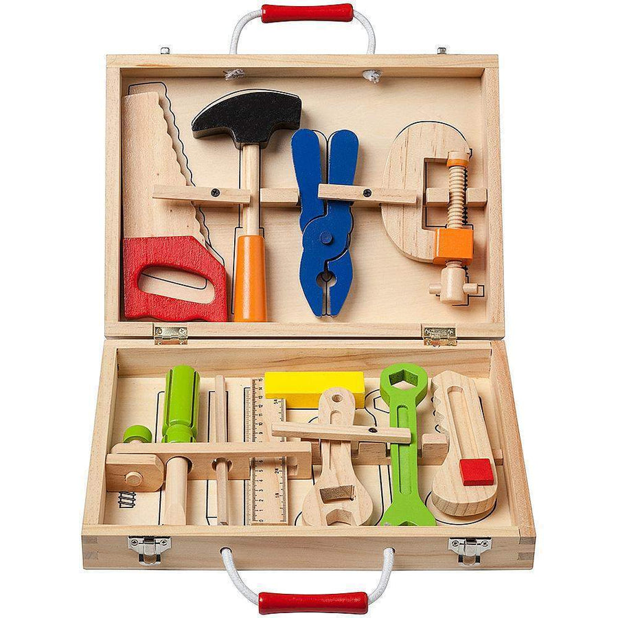 Childrens Wooded Tool Box