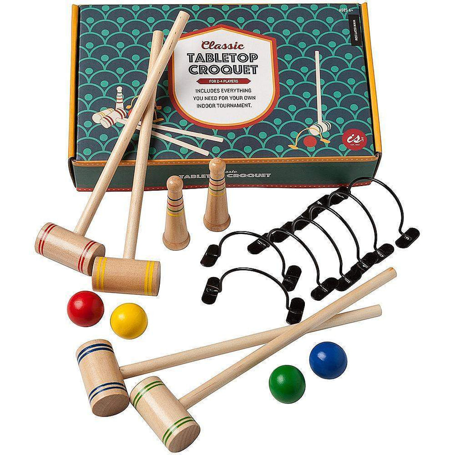 Classic Table Top Croquet
