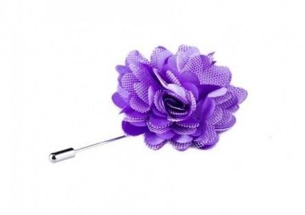 Lilac Flower Lapel Pin -