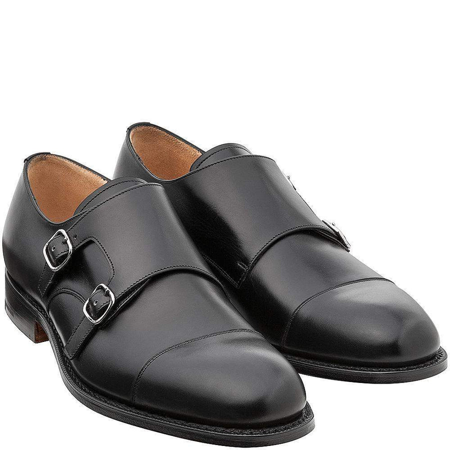 Church's Cowes Double Monk Leather Shoes