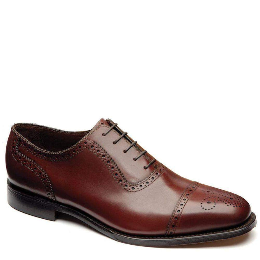 LOAKE STRAND SEMI BROGUE SHOE
