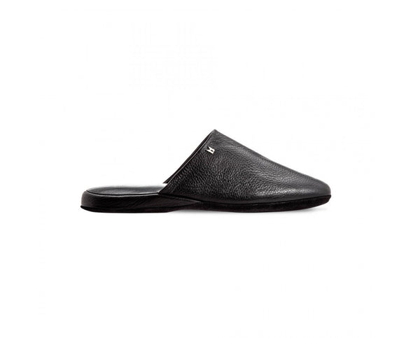 MORESCHI ARMERIGO SLIPPER BLACK
