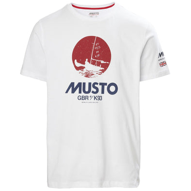 MUSTO TOKYO TEE WHITE *(Online Only)