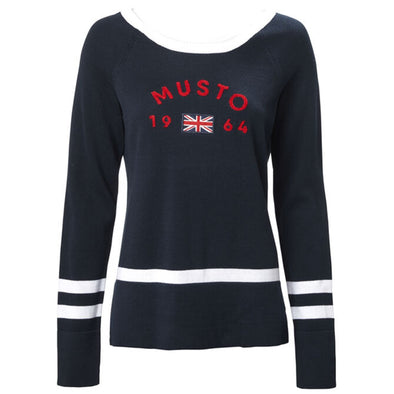 MUSTO WOMEN LONG SLEEVE KNIT *(Online Only)
