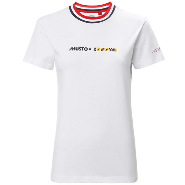 MUSTO WOMEN FLAGS TEE *(Online Only)