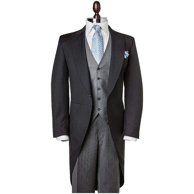 Henry Bucks-Henry Bucks Wool Morning Coat-Henry Bucks