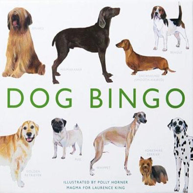 DOG BINGO GAME -