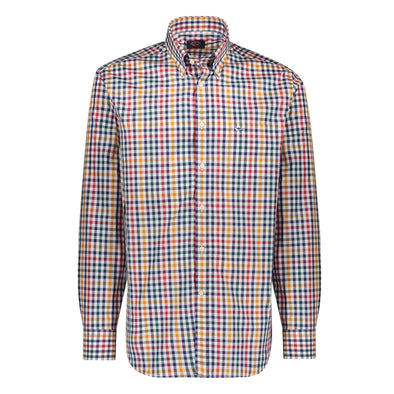 PAUL & SHARK MULTI COLOR CHECK SHIRT